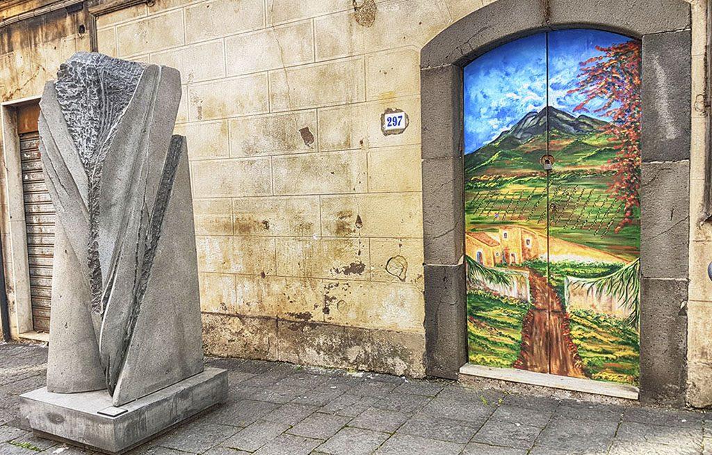 Belpasso consegna opere citt delle cento sculture yvii 24 for Motta arredi ragalna