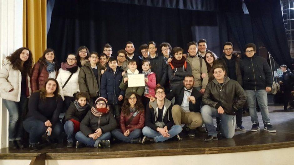 """Concorso Bandistico Nazionale """"Ama"""", secondo posto per la Junior Band """"Pacini"""" di Santa Maria di Licodia"""