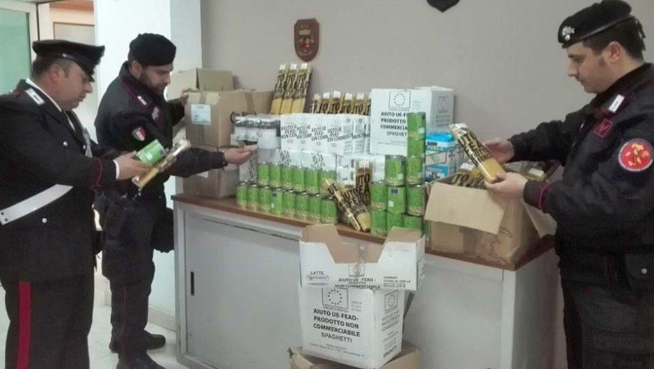 Biancavilla, ritrovati beni alimentari rubati alla Caritas Evangelica di S.M. di Licodia