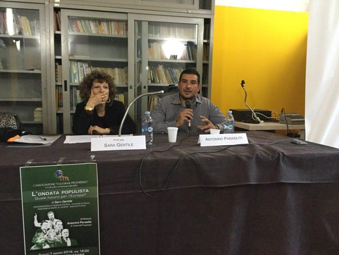 """Santa Maria di Licodia, conferenza sul tema """"L'ondata populista, quale futuro per l'Europa?"""""""