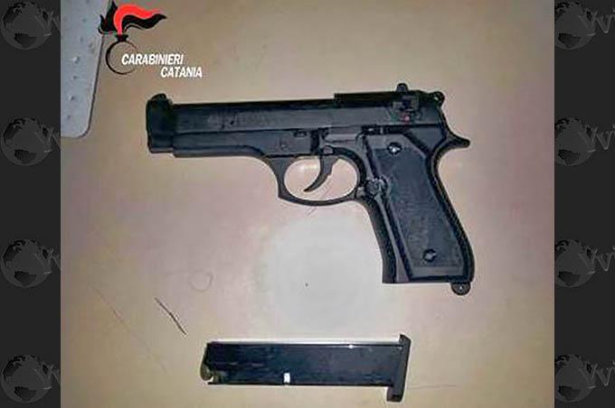 Nicolosi, arresto per detenzione di una pistola
