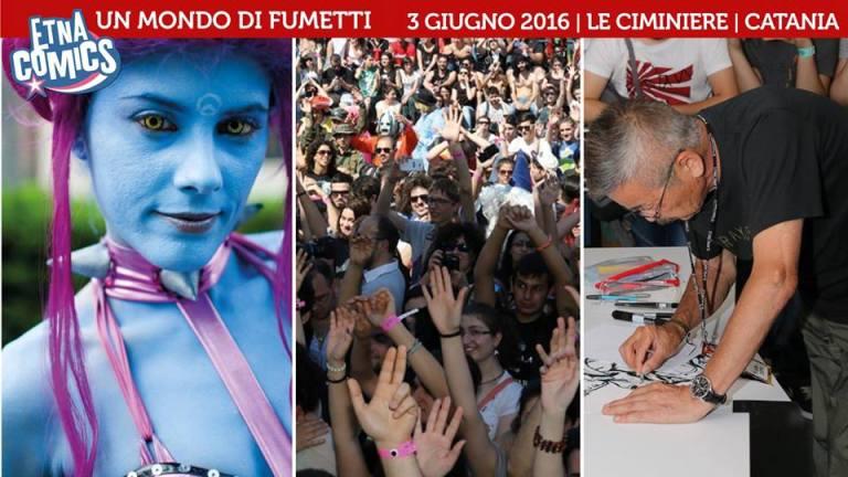 """""""Storie sotto il Vulcano"""", protagonista il 3 giugno di Etna Comics 2016"""