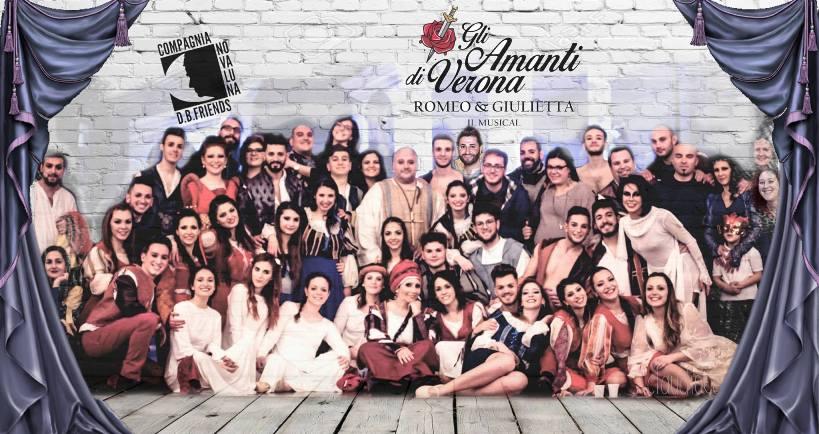 """Biancavilla, standing ovation per """"Gli amanti di Verona – Romeo&Giulietta il musical"""""""
