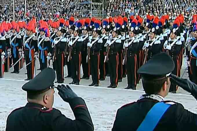 Catania, oggi celebrazione 202° anniversario della fondazione dei Carabinieri