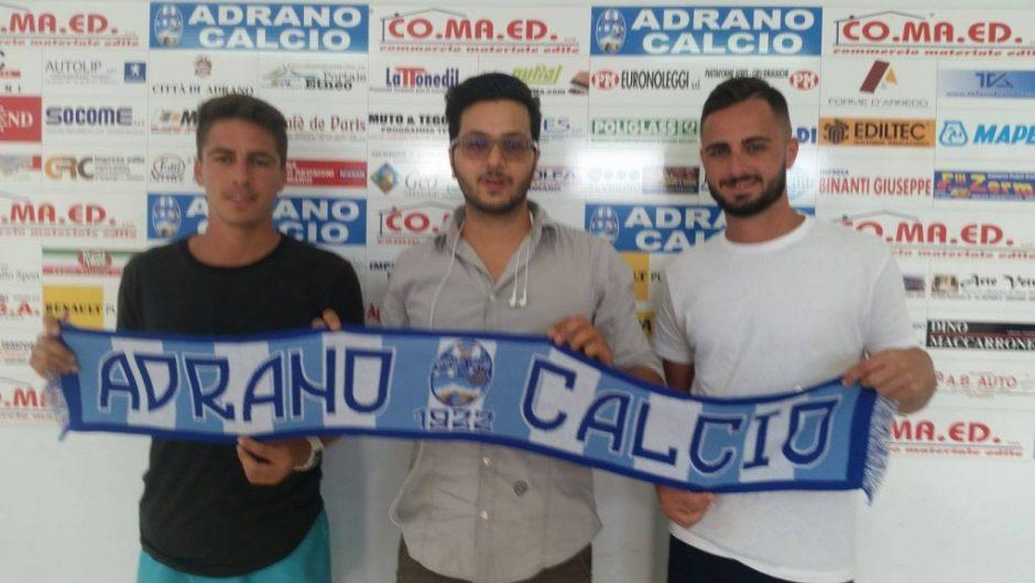 Calcio, Adrano: primo giorno biancazzurro per Carlo Fernandez Tadeo e Nelson Ferreras
