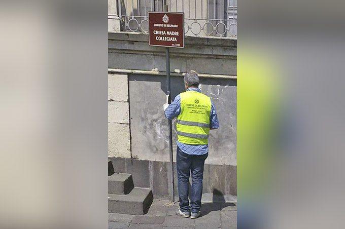 Belpasso, manutenzioni in città grazie al Servizio civico comunale