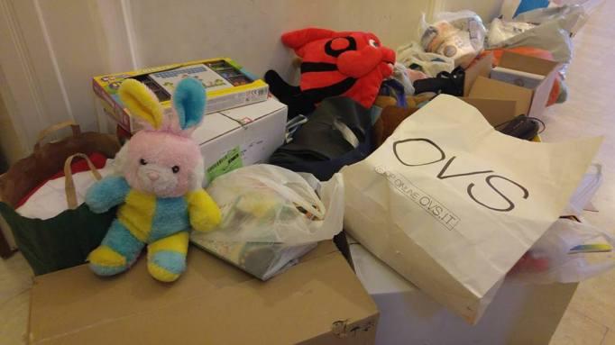 Biancavilla, raccolti doni per i bambini terremotati del Centro Italia