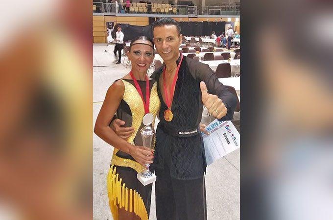 Belpasso, Emanuela e Massimiliano campioni mondiali di Danza sportiva