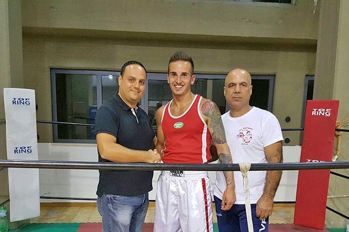 Belpasso, Andrea Orto Ricciari campione regionale senior di boxe