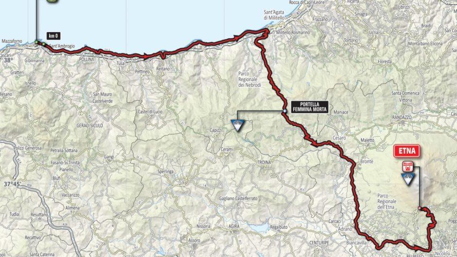 Presentato il Giro d'Italia numero Cento: il 9 e 10 maggio sarà sull'Etna e a Pedara