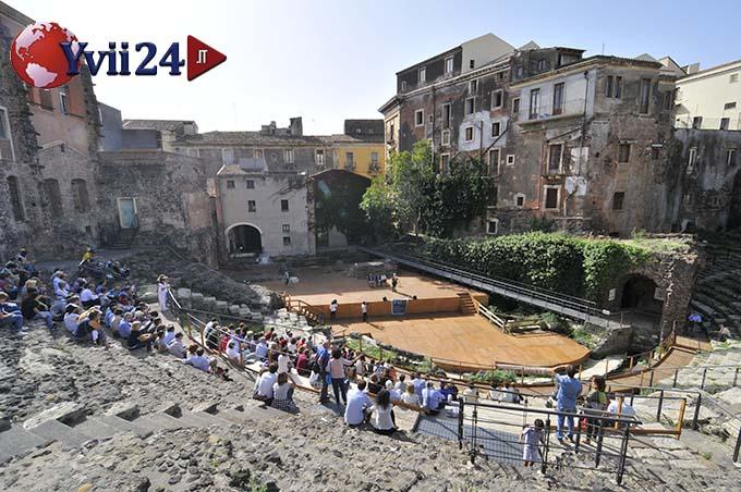 Catania, la Fai Marathon al Teatro greco-romano - © Foto pietronicosia.it