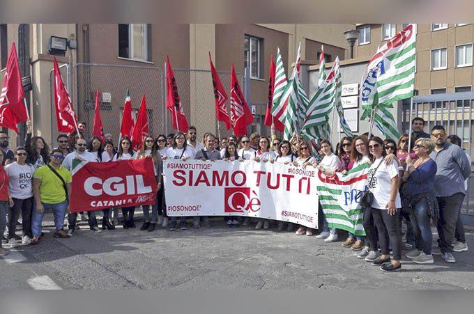 Qè Paternò, oggi il sit-in davanti Wind-Enel di Catania