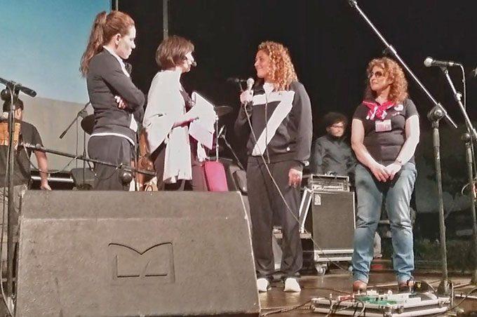 Le medaglie d'argento a Rio di Janeiro Tania Di Mario e Rosaria Aiello, testimonial della Lilt