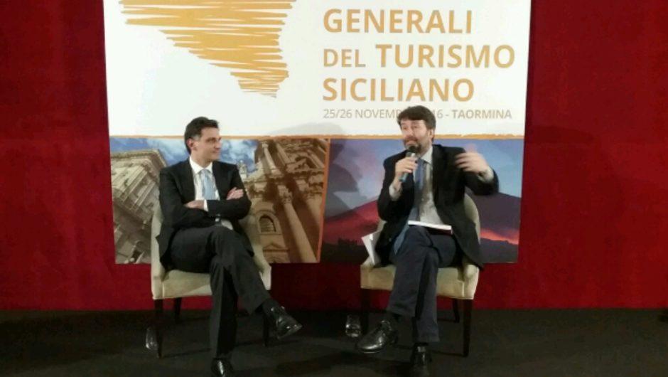 Turismo Sicilia, il Ministro Franceschini chiude gli Stati Generali: «Puntare su modello di qualità»