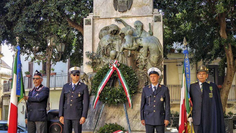 Biancavilla, opposizione: «Spostare Monumento ai Caduti»