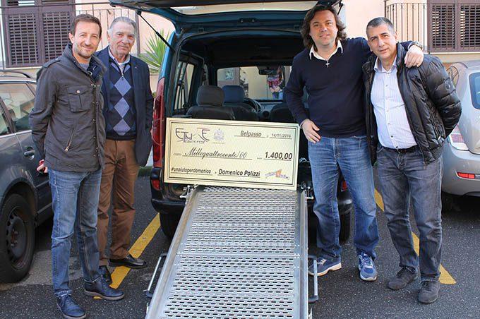 Etnae Tribute Fest: consegnati 1.400 Euro a Domenico Polizzi