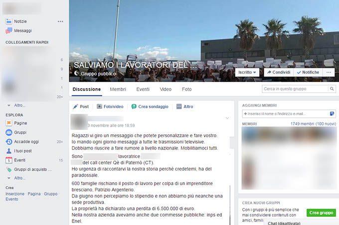 Qè Paternò: «Ho urgenza di raccontarvi la nostra storia»