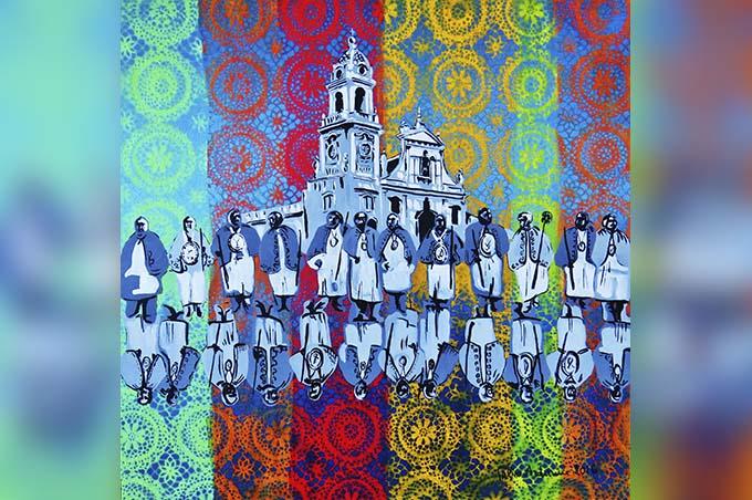 """Biancavilla, un dipinto del pittore Ardizzone nel calendario 2017 """"Luoghi e tradizioni d'Italia"""""""