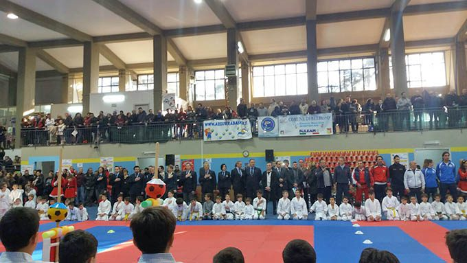 Belpasso, Coppa di Natale per 370 piccoli karateki