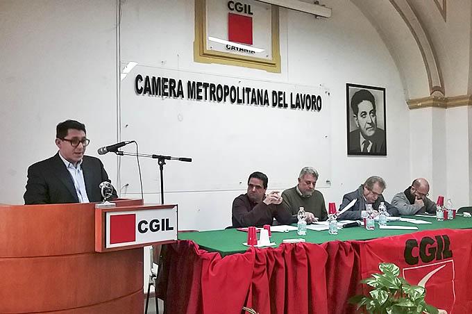 Pino Mandrà nuovo segretario provinciale Flai, sindacato Cgil agricoltura, forestali, industria