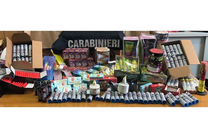 Catania, sequestrati oltre duemila botti di Capodanno