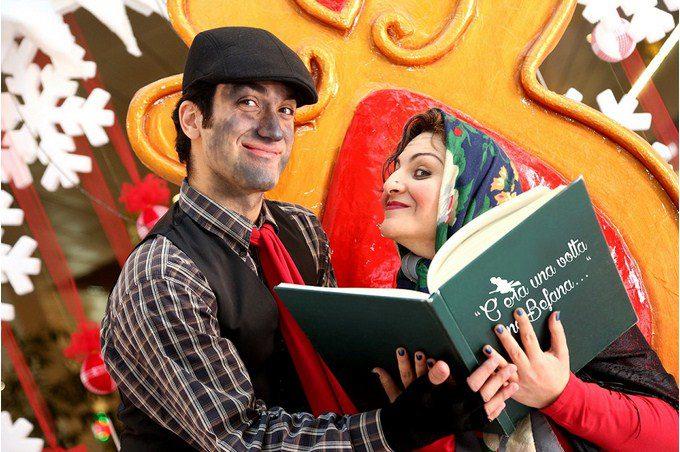 A Etnapolis arriva la Befana a leggere le fiabe ai bambini
