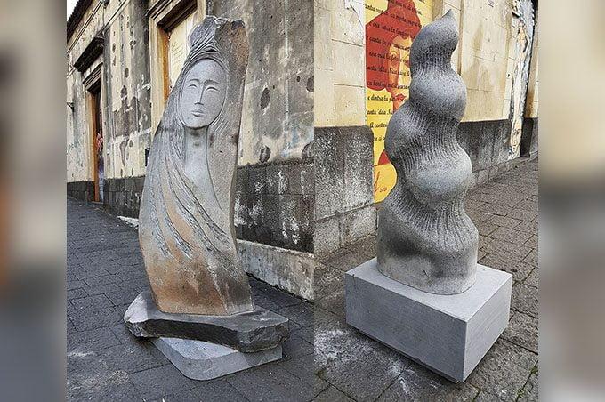 """Belpasso, due nuove opere per la """"Città delle cento sculture"""""""