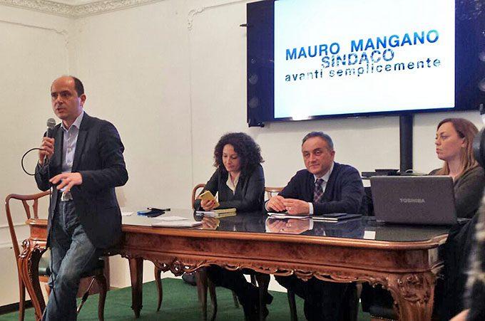 """Paternò, Mauro Mangano in campo """"Avanti semplicemente"""""""