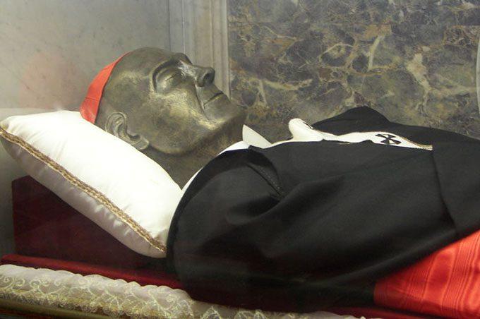Biancavilla, domani l'arrivo del corpo del beato Dusmet