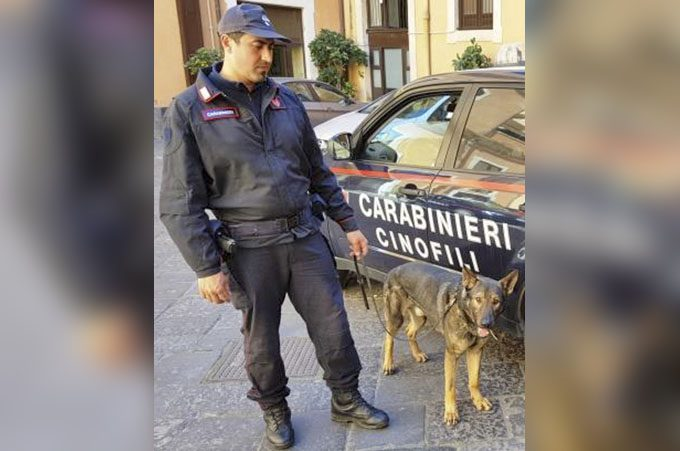 Bronte, droga, armi, furto di energia: arrestato 32enne, denunciato padre e fratello