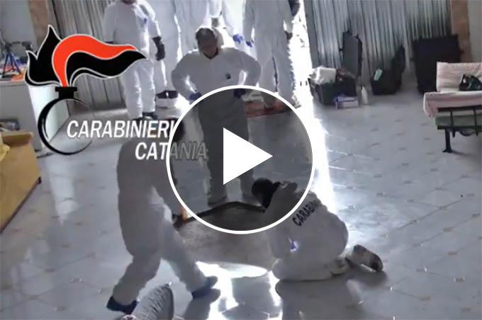 """Paternò. Fatta luce sull'omicidio Caponnetto: in manette 4 presunti esponenti del clan """"Santapaola"""" (VIDEO)"""