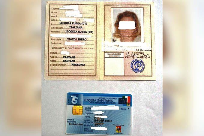 Misterbianco, arrestata belpassese per furto d'identità: Esibisce alla Posta documento falso