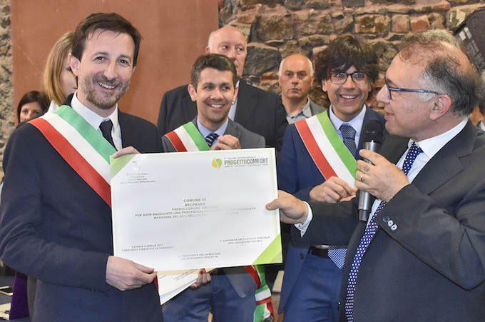 Differenziata, il Comune di Belpasso premiato dalla Regione