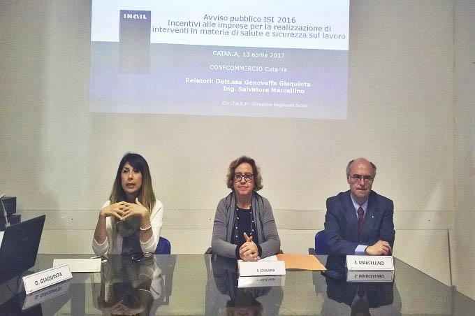 Catania, finanziamenti INAIL per la sicurezza sul lavoro
