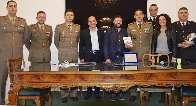 Da sinistra: Garagliano, Celeste, Cerbo, Mangano, Comis, Adorno, Accardo, Campisano, La Spina