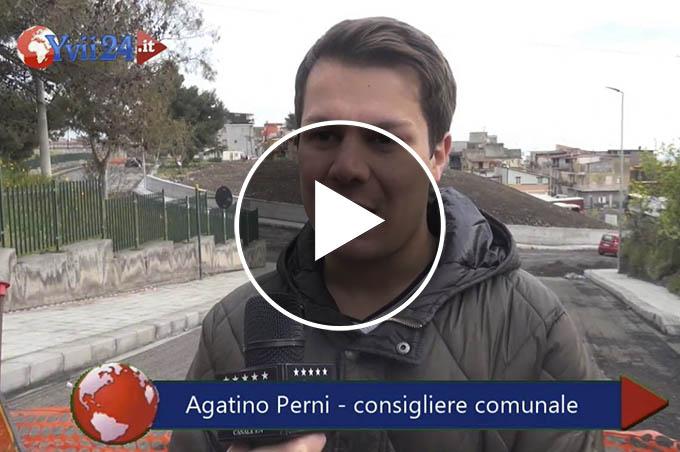 Adrano ponte Fce, Perni contro Ferrante: «Lavori interrotti arbitrariamente»