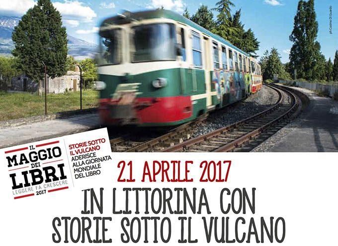 """""""Storie sotto il vulcano"""": venerdì 21 aprile il viaggio in littorina"""
