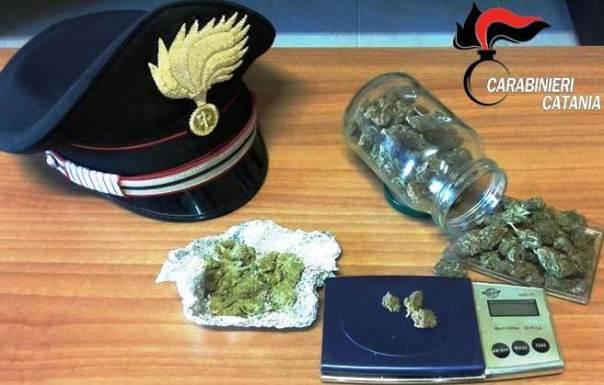 Bronte, arresto per spaccio di stupefacenti