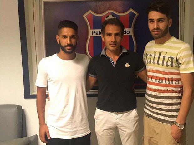Calcio, Randis e Viglianisi sono due nuovi giocatori del Paternò Calcio