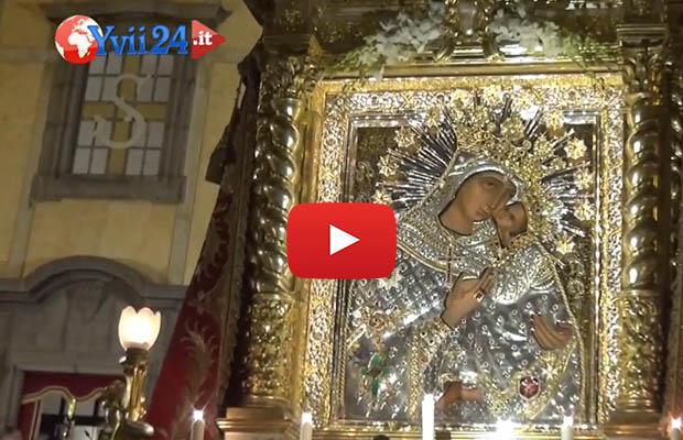 Biancavilla, monsignor Fisichella conclude la festa della Madonna dell'Elemosina