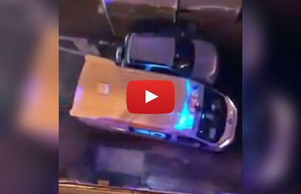 Adrano, video shock: auto posteggiata impedisce passaggio dell'ambulanza