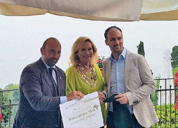 Taormina, un licodiese tra gli ambasciatori dell'olio d'oliva