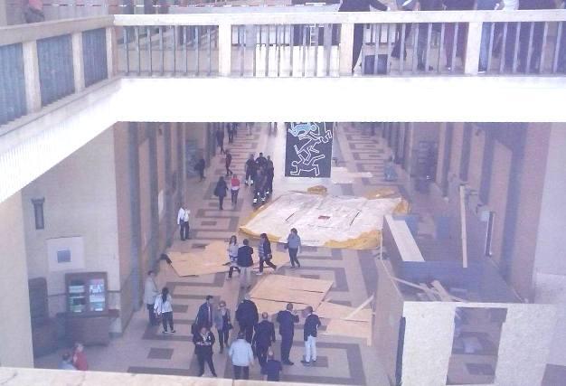 Catania, risolto il caso dell'uomo che voleva lanciarsi dal primo piano del Tribunale