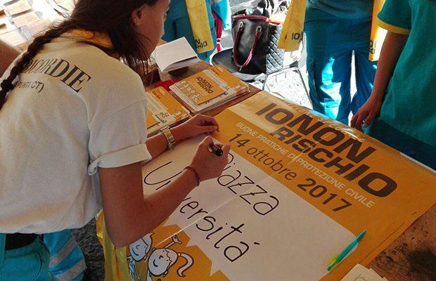"""Catania, oggi la campagna informativa """"Io non rischio"""""""
