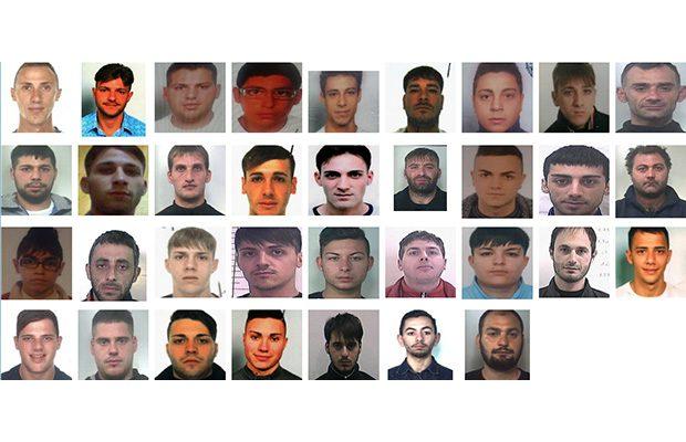"""Catania. Droga a """"chilometro 0"""", 36 arresti a Librino"""