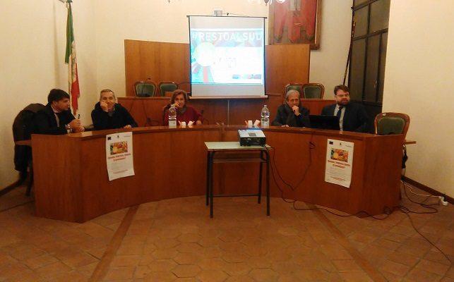 """""""#Resto al sud"""", convegno ieri a Santa Maria di Licodia"""