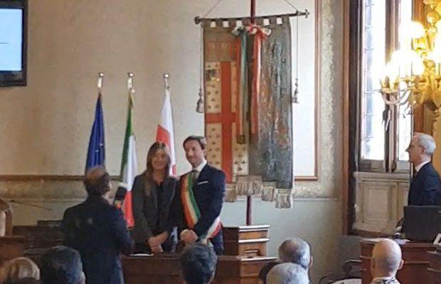 Il sindaco di Belpasso Caputo e la sottosegretaria Boschi siglano la riqualificazione di Villa Serena