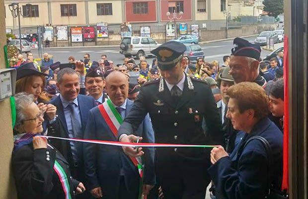 Biancavilla, associazioni Carabinieri e Finanziari in piazza Sgriccio
