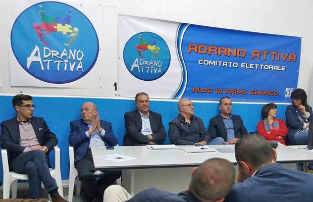 """Ferrante e """"Adrano Attiva"""" aderiscono al progetto di Aldo Di Primo"""