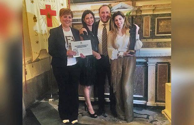 """Catania. Conferito il Premio """"Essenza Donna"""" 2018"""